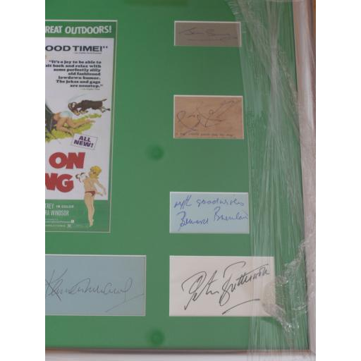 Carry On Camping multi signed & framed display (1c).jpg