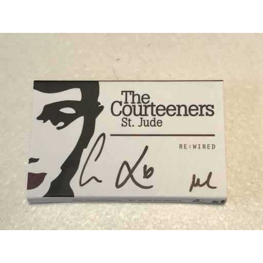 THE COURTEENERS SIGNED ST. JUDE CASSETTE