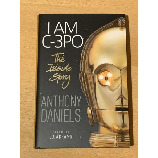 ANTHONY DANIELS C-3PO STAR WARS SIGNED AUTOBIOGRAPHY
